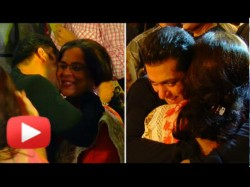 Throwback Video Salman Khan Meets His On Screen Mom Reema Lagoo