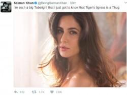 Salman Khan Promotes Tubelight Thugs Of Hindostaan And Tiger Zinda Hai