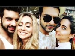 Karan Kundra Support Girlfriend Vj Anusha On Social Media
