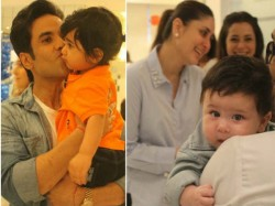 Tusshar Kapoor Son Laksshya 1st Birthday Party Inside Pics
