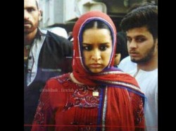 Shraddha Kapoor S Leaked Picture From The Sets Haseena