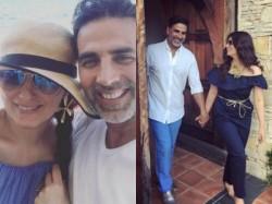 Akshay Kumar Twinkle Khanna Holiday Pics In France