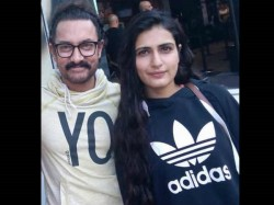 Aamir Khan Fatima Sana Shaikh Spotted Chilling Malta
