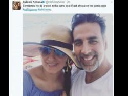 Twinkle Khanna Shares Lovey Dovey Pic With Husband Akshay Kumar