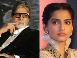 Amitabh Bachchan Angry On Sonam Kapoor For Not Replying On Birthday Message