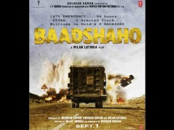 Baadshaho First Poster Out But Ajay Devgn And Emran Hashmi Are Missing In Poster