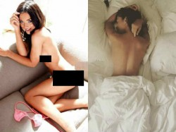Salman Khan Close Actress Amy Jackson Shared Her Bare Picture
