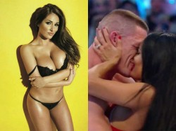 Wrestler Nikki Bella Shared Bold Video Stripping With John Cena