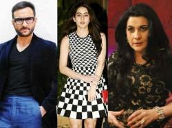 Sara Ali Khan Parents Saif Ali Khan Amrita Singh Fight Over Debut