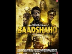The Final Poster Baadshaho Starring Ajay Devgn