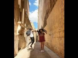Fatima Sana Shaikh Pics From Thugs Of Hindostan Shoot Malta