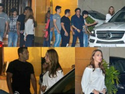 Salman Khan Escorts Iulia Vantur In Her Car See Pics