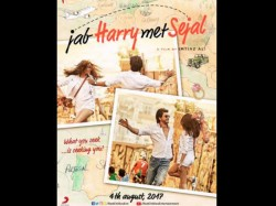 Jab Harry Met Sejal New Poster Shahrukh Khan Anushka Sharma Confused Conversation