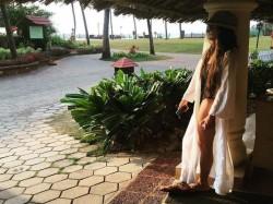 Mouni Roy Makes Flaunts Her Sensational Figure On Beach