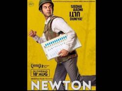 Rajkummar Rao S Newton Poster Looks Impressive