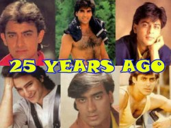 Years Of Srk Debut What Other Bollywood Superstars Were Doing