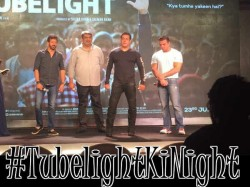 Tubelight Ki Night Event Live Updates