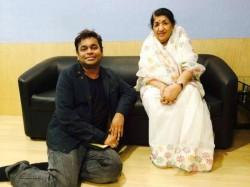 Lata Mangeshkar Defends A R Rahman