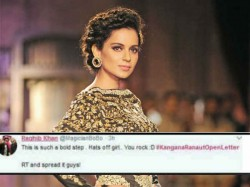 Kangana Ranaut Open Letter On Nepotism Twitteraties Priased Her