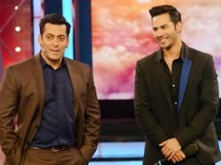 Salman Khan Pulls Varun Dhawan S Leg Over Judwaa