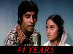 Amitabh Jaya Bachchan Movie Abhimaan Clocks 44 Years Read Trivia