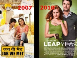 Hollywood Movies Inspired Bollywood Movies