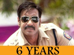 Years Of Ajay Devgn Movie Singham