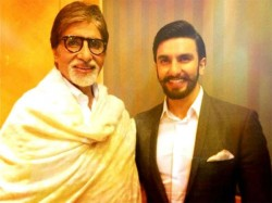 Amitabh Bachchan Asks Ranveer Singh For Not Acknowledging His Birthday Messages