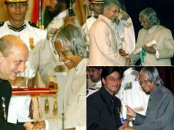 Bollywood Stars Rare Moments With Late President Apj Abdul Kalam