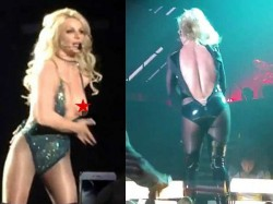 Singer Actress Britney Spears Faced Opps Moment On Stage
