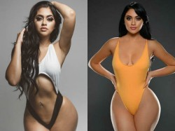 Actress Jailyne Ojeda Flaunting Figure Bold Pictures Going Viral