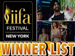 Iifa Awards 2017 Winner List