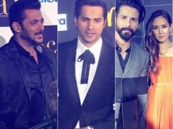 Iifa Awards 2017 Green Carpet Salman Khan Varun Dhawan Shahid Kapoor