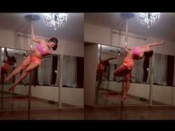 Jacqueline Fernandez Doing Poll Dance See Video