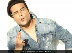 Comedian Krushna Abhishek Goes Bald The Drama Company