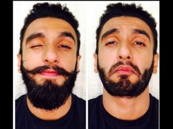 Ranveer Singh Is Heartbroken Over Losing His Mustache