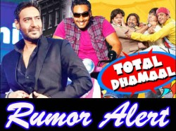 Ajay Devgn Clarifies His Stance On Total Dhamaal Sequel