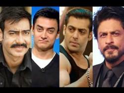 Salman Khan Ajay Devgn Replaced Shahrukh Khan Aamir Khan