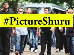 Shahrukh Khan Salman Khan Shoot Anand L Rai Film View Pic