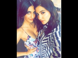 Sonam Kapoor Joins Anushka Sharma On The Sets Of Dutt Biopic Shares Selfie