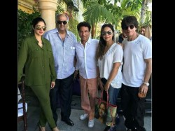 Shahrukh Khan Gauri Khan Sridevi Boney Kapoor Spotted Together In Los Angeles