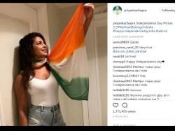 Priyanka Chopra Trolled For Wearing Tricolor Dupatta