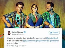 Bollywood Stars Twitter Reaction On Kriti Sanon S Bareilly Ki Barfi