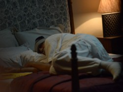 Amitabh Bachchan Caught Sleeping On The Set Of A Film He Is Shooting