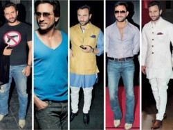 Saif Ali Khan Different Looks Shows He Is Truley Nawab And Most Stylish Actor Of Bollywood