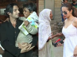 Salman Khan And Othres Stars Reactions When Had An Encounter With Beggar