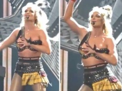 Britney Spears Faced Wardrobe Malfunction During Performance