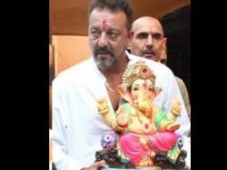 Sanjay Dutt Record Ganpati Aarti For Bhoomi