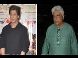 Javed Akhtar Will Be The First Speaker On Shahrukh Khan S Ted Talks India