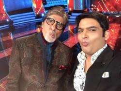 Amitabh Bachchan Kbc Shoot With Kapil Sharma